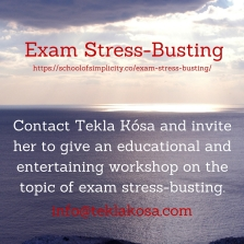 Exam Stress-Busting workshop
